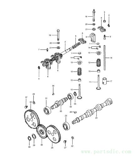 DX15/DX18  Rod Push 2.428-00049 #18