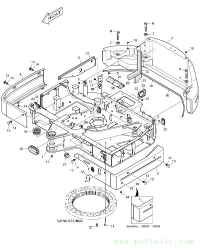 DX80R  Main Frame Assy K1030292E