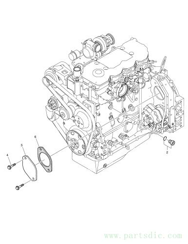 DX140LCR  Gasket K9007176 #6(1*17*10)