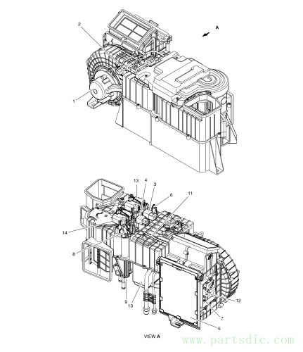 DX225LC (S/N 5433~)  Sensor Temperature K1002212 #7(Ø25X150)
