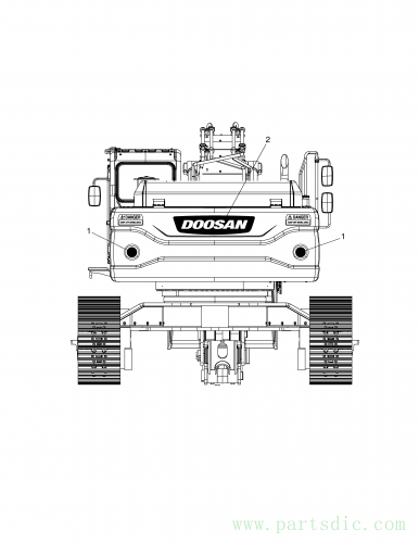 DX480LC  Decal K1039697 #1(Φ140x0.025)