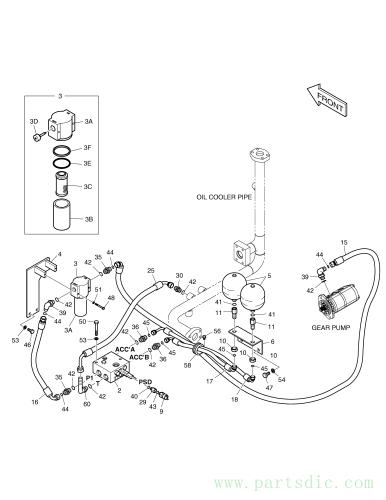 DX140W TIER-II  Washer Spring S5102303 #51