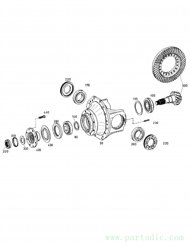 MT30/30S S/N 354361-  Washer MX153403 #300