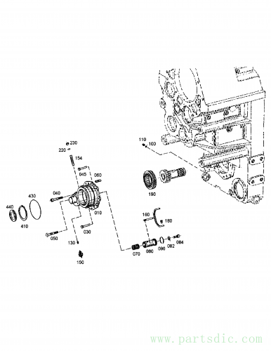 MT40B S/N 513002-  Pin,cylinder MX504598 #060