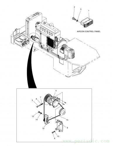 MEGA 200TC-V  Washer Plain S5000113 #3