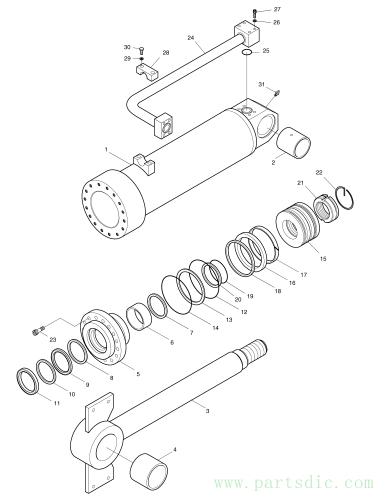 MEGA 400-V  Seal Kit 440-00135BKT #*