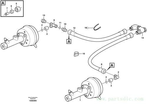 Brake system, motor unit S/N - 12677