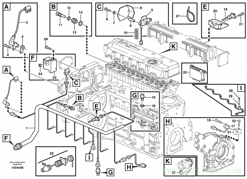 Cable harness, engine ENG - 937065