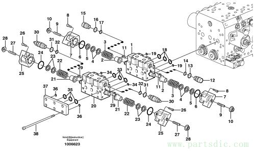 Hydraulic valve, X2