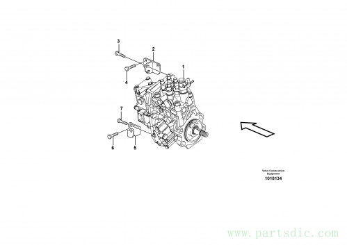 Injection pump 11850033, 11850709