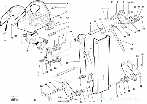 Control head assembly