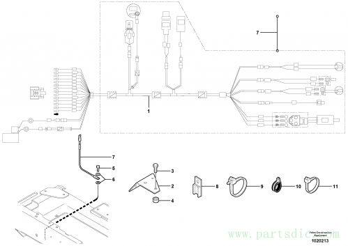 Electrical system (rear) / with Puma