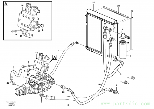 Supply/return and Cooling Circuits 11840309,11840310