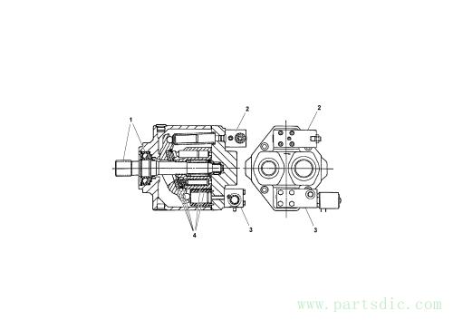 Generator Pump Option SN -173287, 20324307