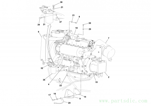 Engine assembly S/N -200978 43934678_59162834