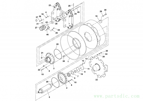 Drum Assembly S/N 196615-, SD-200, 43887876