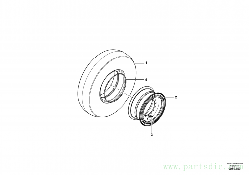 Direct Drive Wheel Assembly