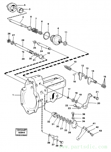 Fuel injection pump shafts