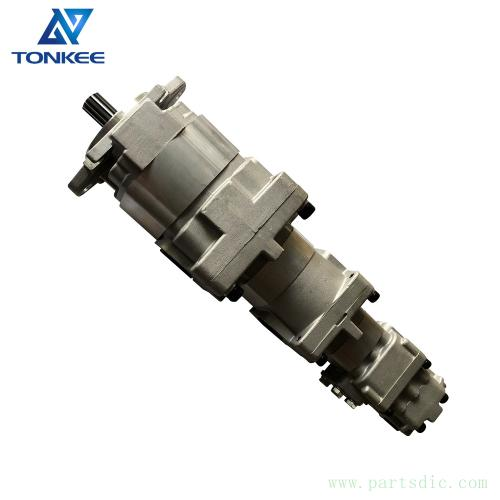 705-38-39000 705-56-36051 SAR90+32+SB8+12 hydraulic gear pump WA320-5 WA320-6 loader 4 stage gear pump suitable for KOMATSU