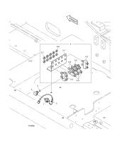 DX225LC (S/N 5433~)  O Ring S8000111 #2(Ø16X3)