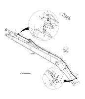DX225LCA  Washer Spring S5102803 #16