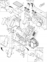 DX255LC  Plate K1001295A(K1001295B) #12(390*78*123)