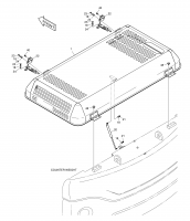 DX300LC  Cover Ass'y 621-02719O