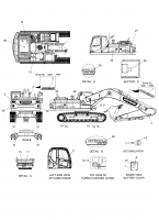 DX300LC  Decal K1039697 #30(Φ140x0.025)