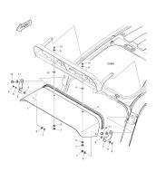 DX350LC  Screw M6x1.0x14 2120-2166D10 #10(Ø14x18)