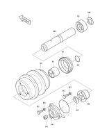 SOLAR 400LC-III  O Ring S8010550 #6K(61*61*3.5)