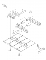 SOLAR 150LC-V  Link (l.h) 9272-6007 #1A