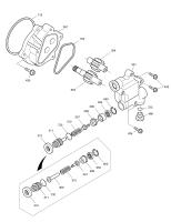 SOLAR 220LC-V  Pump Gear 719212 Assembly