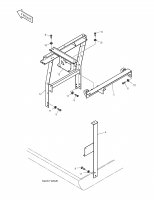 SOLAR 220LC-V  Support Ass'y 2197-1423A
