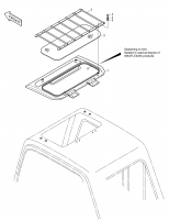 SOLAR 330LC-V  Cover Ass'y Roof 621-01039A #1(718*485*93)