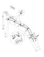 SOLAR 420LC-V  Pipe 140-01191 #2(3250*140*160)