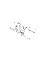 SOLAR 500LC-V  Pulley,alternator 130707-00030 #1A(99*99*34)