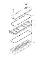DX140W TIER-III  Packing Cylhead Cover 65.03905-5002 #4(Ø25X30)