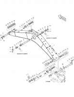 DX160W RAIL WAY  Pin 9123-1089 #3