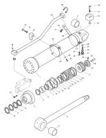 DX210W  Nut Piston 121-00055 #23