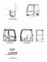 DX210W  Decal Assy Cabin 950205-00894