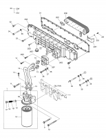 DX210W  Element Oil Cooler 65.05606-5032A #20B(350*180*60)