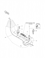 SOLAR 160W-V  Key Starter Switch D400 2172-1138 #20A
