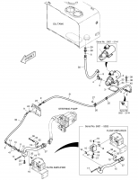 DL500  Piping,emergency Steer 420212-01239 Assembly