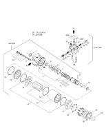 MEGA 200TC-III  Unit Steering 4420-9620 Assembly(217*102*93)