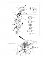MEGA 200-V  Harness Starter Switch 2530-1427 #18