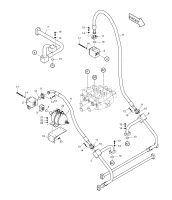 MEGA 300-V  (S/N 3001~)  Lis Piping 400-00340 Assembly