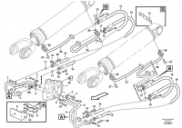 Hydraulic system, lift function
