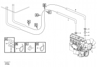 Cab heater with connectors 11298204