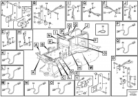 Cable harness, fire extinguishing system, cab 82592