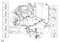 Cable and wire harness, main